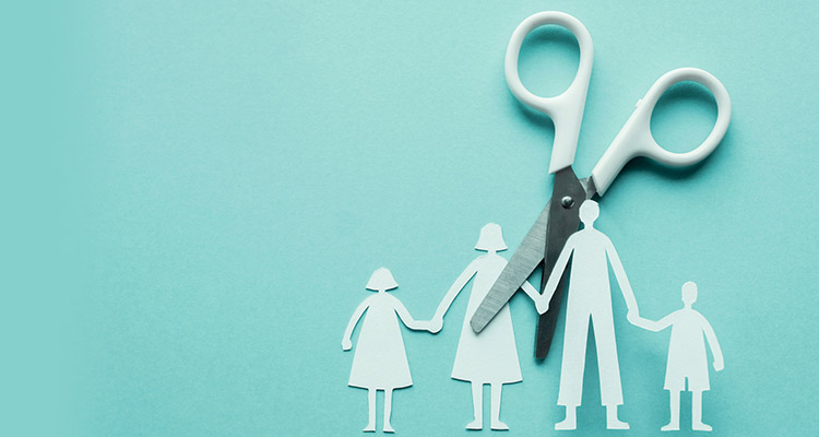 Steps to getting a divorce - don't sweat the small stuff