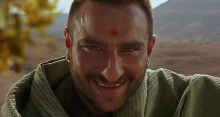 Saif played the role of the rustic Langda Tyagi