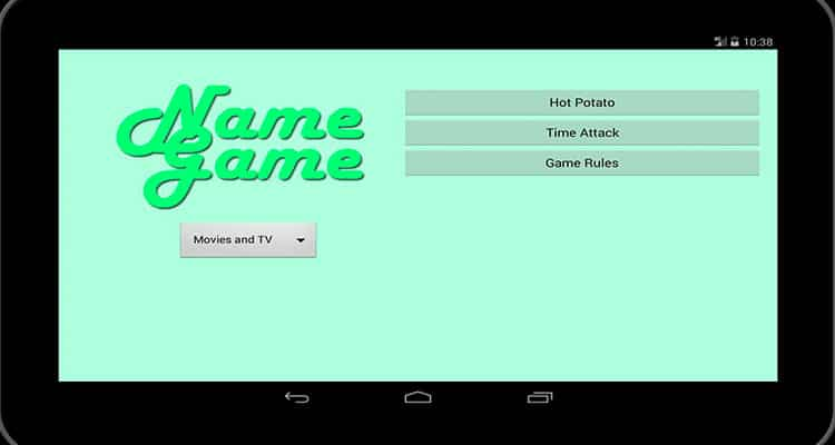 Texting games to play - The Name Game