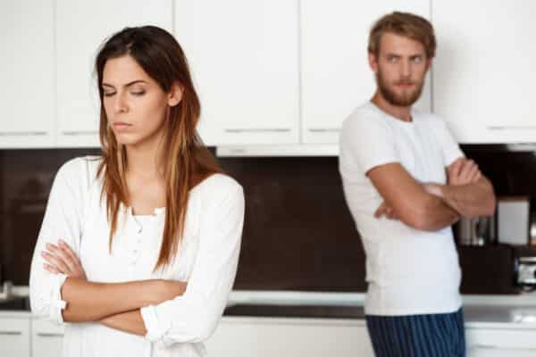 Karmic relationship symptoms include mental stress