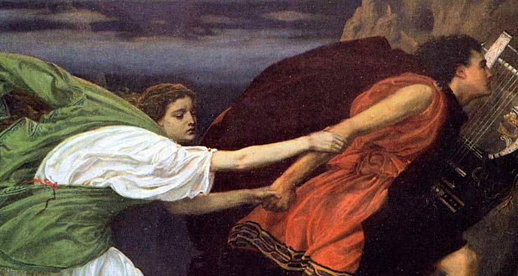 Orpheus and Eurydice are persecuted