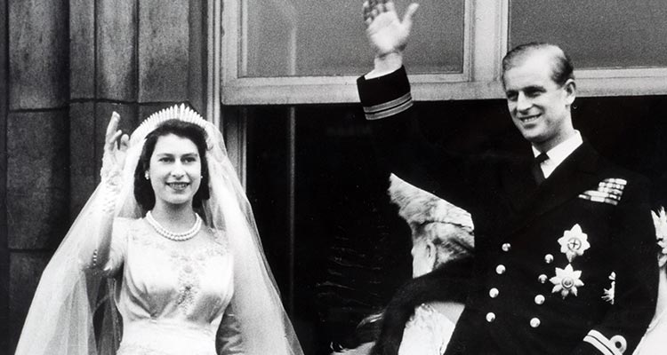 Prince Philip and Princess Elizabeth got married in an extravagant ceremony