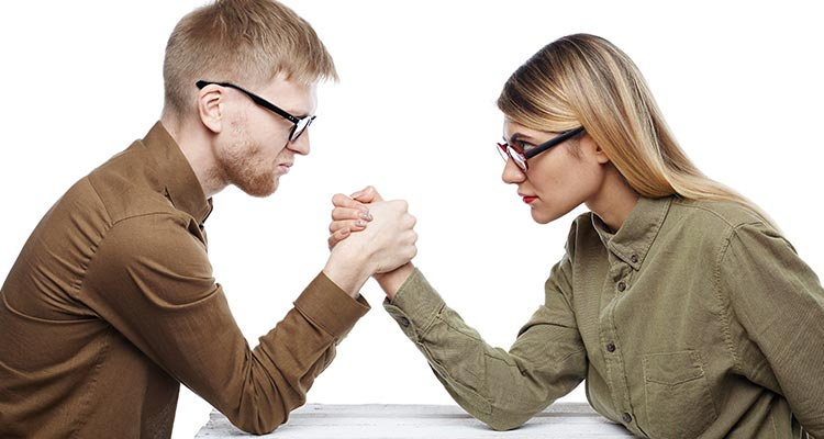 Anger management in relationships is not like a war