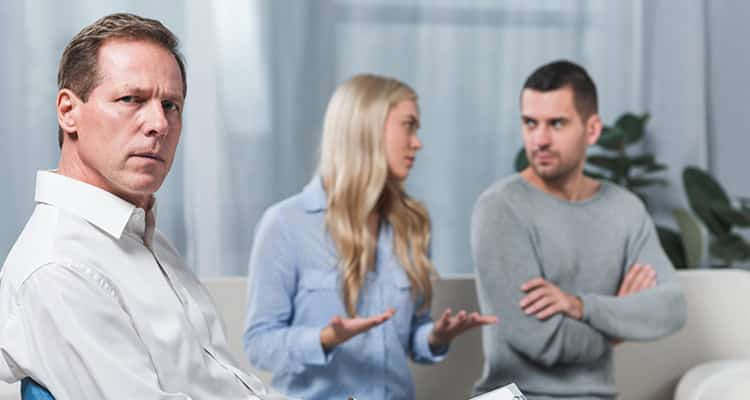 How to cope with an unsupportive husband - get help