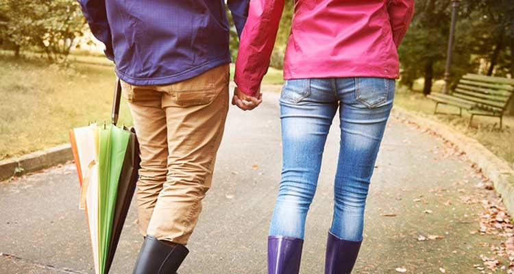 Something as simple as holding her hand as you want down a busy street together can do the trick.