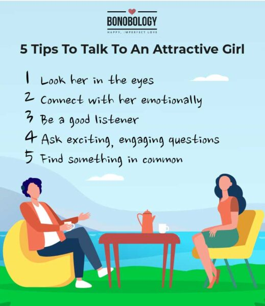 Tips to talk to an attractive girl