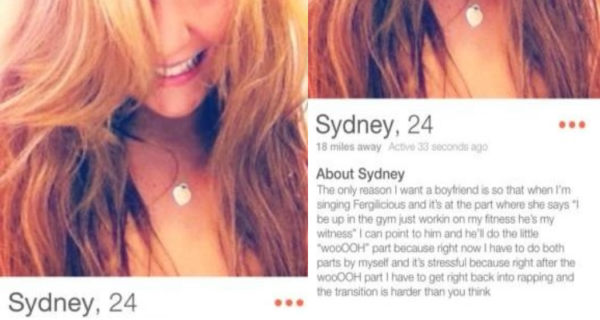 what should be avoided on Tinder