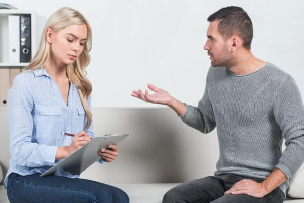 Divorce counseling helps with communication