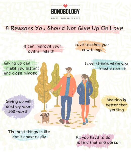 Infographic -Giving Up On Love? 8 Reasons You Shouldn't
